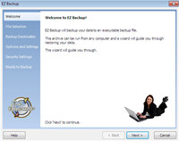 EZ Backup IE and Windows Live Mail Basic