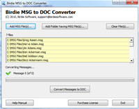 Convert MSG to Word screenshot medium