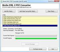 Convert EML to PST Software