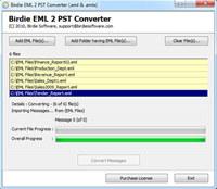 Convert EML to PST Software