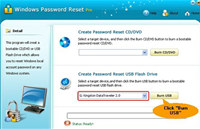 Windows Password Reset Pro screenshot medium