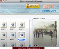 Mac Memory Card Recovery screenshot medium