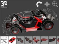 3D Kit Builder (Concept Car - X350)
