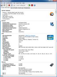 BurnInTest Standard screenshot medium