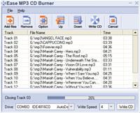 Ease MP3 CD Burner