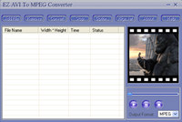 EZ AVI To MPEG Converter