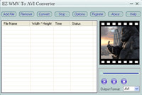 EZ WMV To AVI Converter
