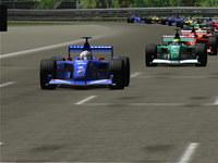 F1 Racing 3D Screensaver