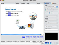 ImTOO DVD to MP4 Converter for Mac screenshot medium