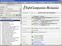 InfoCompanies Romania screenshot medium