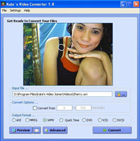 Kate`s Video Converter screenshot medium
