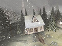3D Quiet Winter Screensaver screenshot medium