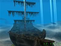 Sunken Ship 3D Screensaver