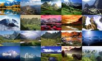 Mountains Photo Screensaver