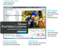 Movavi iPod Video Converter