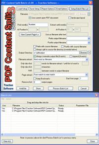 PDF Content Split Batch