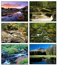 River Scenery Screensaver