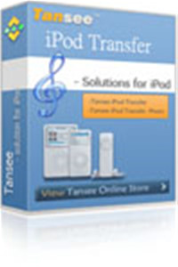 Tansee iPod Transfer four 0709