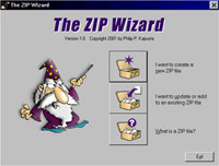 The ZIP Wizard