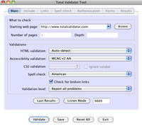 Total Validator Test for Mac