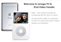 TV to iPod f