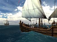 Voyage of Columbus 3D Screensaver