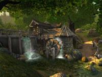Watermill 3D Screensaver screenshot medium
