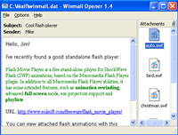 Winmail Opener screenshot medium