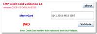 CreditCard Validator