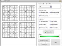 Sudoku2pdf