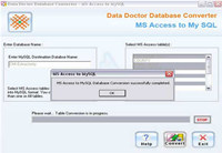 Migrate MS Access Database to MySQL