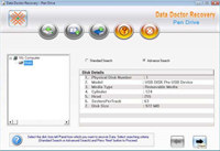 Transcend Pen Drive Recovery Tool screenshot medium