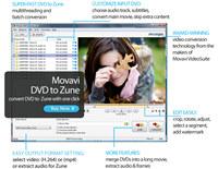 Movavi DVD to Zune