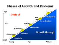 Greiner Growth Phases Software Tool