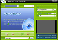 Avaide DVD To MP3 Converter
