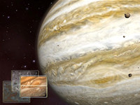 Jupiter 3D Space Screensaver