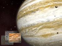 Jupiter 3D Space Screensaver