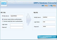 MSSQL To MySQL Data Base Conversion screenshot medium