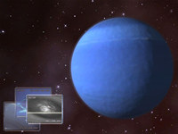 Neptune 3D Space Screensaver