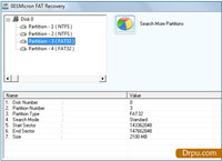Windows FAT Data Salvage Software screenshot medium