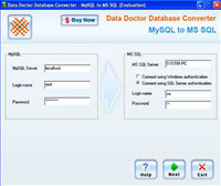 MySQL To MS SQL Conversion Software screenshot medium
