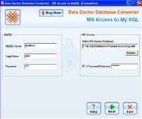 MS Access DB Conversion Software