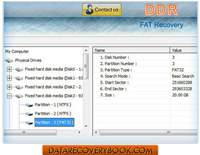 FAT Partition Recovery Software