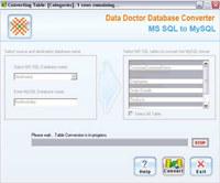 MSSQL To MySQL DB Converter Tool