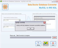MySQL To MS SQL DB Converter Tool