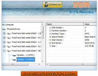 Windows NTFS Partition Data Recovery