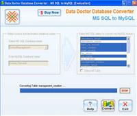 Migrate MS SQL To MySQL Database
