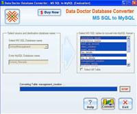 MSSQL to MySQL converter Tool