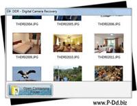 Digital Camera Image Retrieval Software screenshot medium