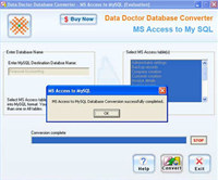 MS Access Database To MySQL Converter